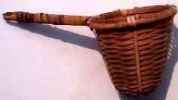 Wicker Basket Tea Strainer - Product Image