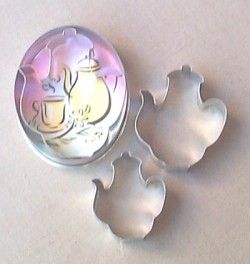 Coffee/teapot Cookie Cutters - Product Image