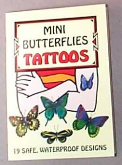 Mini Butterfly Tatoos - Product Image