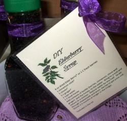DIY Elder Berry Syrup - Product Image