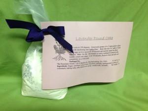 Lavender Pound Cake - Product Image